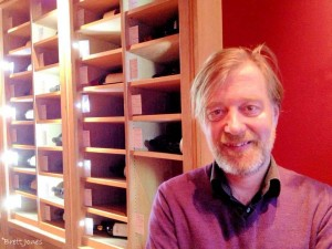 Phil Crozier, Wine Director of Gaucho restaurants
