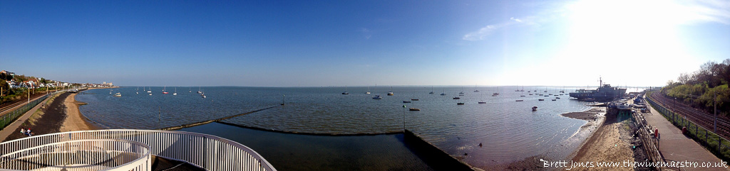 The Thames at Leigh-on-Sea