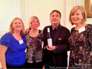 The team and Raymond Blanc